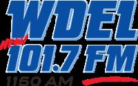 WDEL 101.7 FM Logo